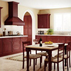 Forevermark Cherry Glazy Kitchen