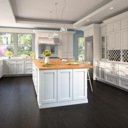 Forevermark Uptown White Kitchen