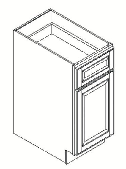 Cabinets, GHI Regal Oak GHI Regal Oak Base Cabinet 12W X 34-1/2H