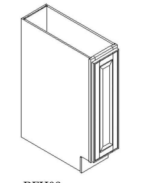 Cabinets, GHI Regal Oak GHI Regal Oak Base Cabinet 9W X 34-1/2H