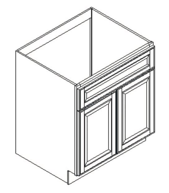 Cabinets, GHI Regal Oak GHI Regal Oak Sink Base Cabinet 30W X 34-1/2H