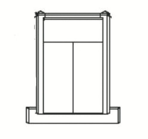 Cabinets, GHI Regal Oak GHI Regal Oak Sink Front RGO-CSF36