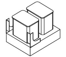 Cabinets, Forevermark Greystone Shaker Forevermark Greystone Shaker Trash Can Insert 16-5/8W X 16-5/16H