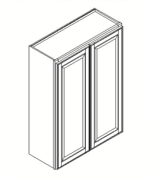 Cabinets, GHI Regal Oak GHI Regal Oak Wall Cabinet 24W X 30H
