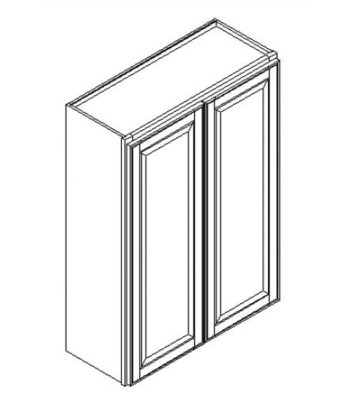 Cabinets, GHI Regal Oak GHI Regal Oak Wall Cabinet 24W X 36H