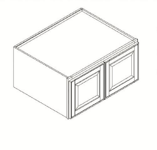 Cabinets, GHI Regal Oak GHI Regal Oak Wall Cabinet 33W X 12H