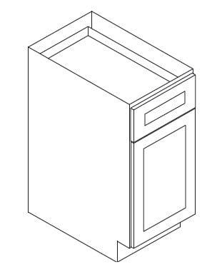 Cabinets, Forevermark Pepper Shaker Forevermark Pepper Shaker Base Cabinet 9W X 34-1/2H