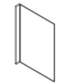 Cabinets, GHI Arcadia Linen, GHI Nantucket Linen Short End Panel