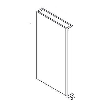 Cabinets, Forevermark Greystone Shaker Forevermark wall-and-base-fillers-and-boxed-columns-clb334-1_2-clw330-clw336-clw342-clw396-