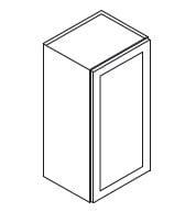 Cabinets, Forevermark Rio Vista White Shaker Forevermark Ice White Shaker Wall Cabinet 18W X 42H