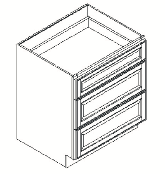 Cabinets, Feather Lodge Newport White Feather Lodge Newport White Drawer Pack Cabinet 30W X 34-1/2H