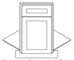 Cabinets, Forevermark Cherry Glaze Sink Front BDCF36K-FL