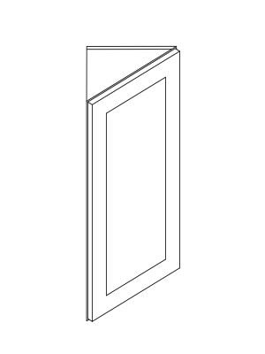 Cabinets, Forevermark Rio Vista White Shaker angle-wall-aw30-aw36-aw42-