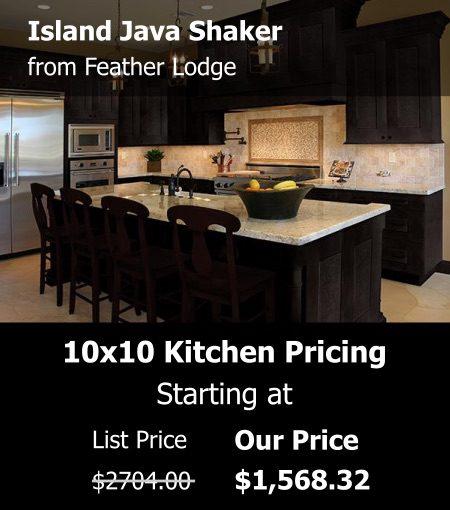 Feather Lodge Island Java Shaker