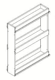 Cabinets Spice-Rack-Insert-SRI-
