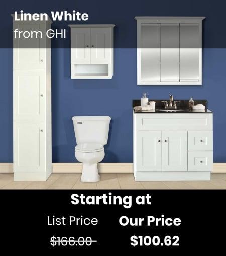 GHI Linen White