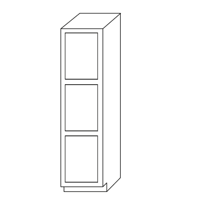 Bathroom Cabinets, GHI New Castle Gray Vanity-Linen-Closet-L781821-VLC781821-VLC7818-