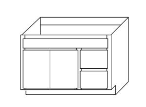 Bathroom Cabinets, GHI Regal Oak, GHI Regal Oak Vanity-V3621D-VA3621D-VA3621-VA3618D-VA4221D