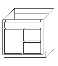 Bathroom Cabinets, GHI Regal Oak, GHI Regal Oak Vanity-With-Drawers-VD-V2418D-V3018D-V2421D-V3021D-VA2418D-VA3018D-VA3018D-VA2421D-VA3021D