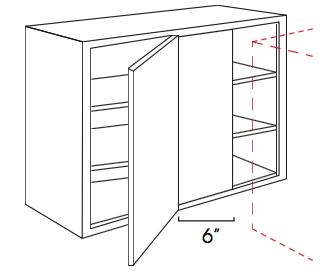 Cabinets, Forevermark Pepper Shaker