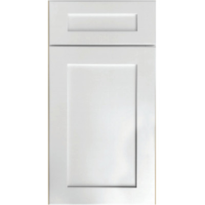 Sample Mini Fronts Arcadia White Shaker Sample Door