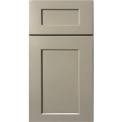 Sample Mini Fronts GHI Stone Harbor Gray Sample Door