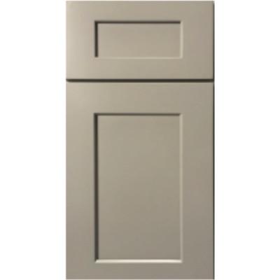 Sample Mini Fronts GHI Stone Harbor Gray Sample Door