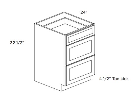 Cabinets, Cubitac Oxford Latte ADA-Drawer-Base-DB15-ADA-DB24-ADA-1