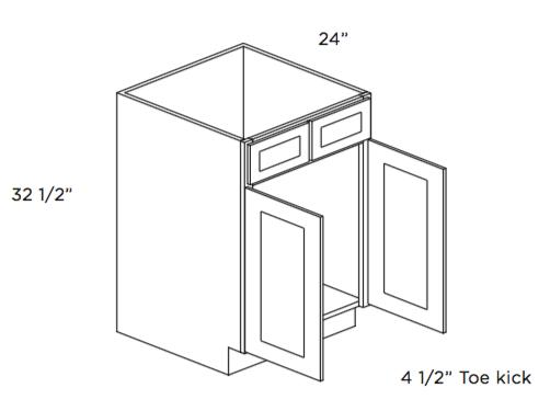 Cabinets, Cubitac Oxford Latte ADA-Sink-Base-Removable-Front-SB30-ADA-SB36-ADA