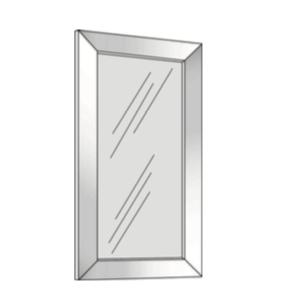 Cabinets, Cubitac Sofia Sable Aluminum-Door-AFG1230-AFG1530-AFG1830-AFG2430-AFG3030-AFG3630