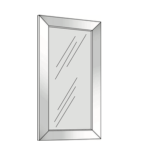 Cabinets, Cubitac Sofia Pewter Aluminum-Door-AFG1242-AFG1542-AFG1842-AFG2442-AFG3042-AFG3642-1