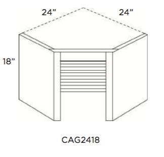Cabinets, Cubitac Belmont Cafe Glaze Appliance-Garage-CAG2418