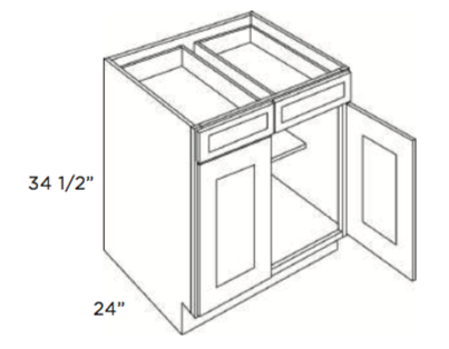 Cabinets, Forevermark Pepper Shaker Base-Cabinet-B24-B27-B30-B33-B36-B24B-B27B-B30B-B33B-B36B-