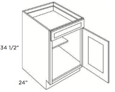 Cabinets, Cubitac Ridgefield Latte Base-Cabinet-B9-B12-B15-B18-B21