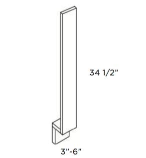 Cabinets, Cubitac Oxford Latte Base-Filler-BF3-BF6