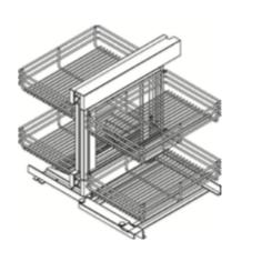 Cabinets, Cubitac Dover Cafe Blind-Corner-Optimizer-BCO-SC-BCO