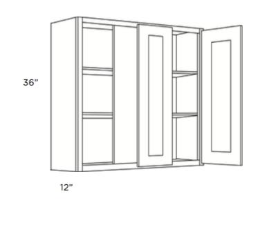 Cabinets, Cubitac Milan Latte Blind-Wall-Cabinet-30-BLW39_4230-BLW42_4530