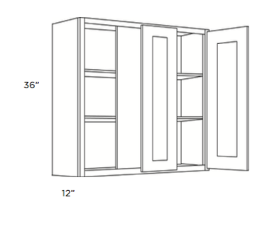 Cabinets, Cubitac Newport Latte Blind-Wall-Cabinet-30-BLW39_4230-BLW42_4530