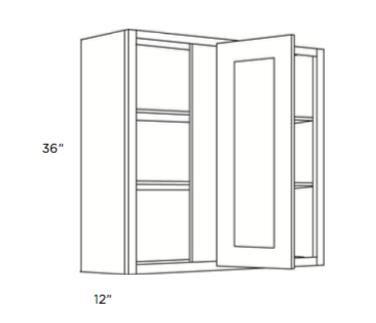 Cabinets, Cubitac Sofia Sable Blind-Wall-Cabinet-36-BLW24_2736-BLW36_3936-BLW30_3336-BLW27_3036