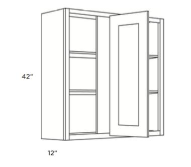 Cabinets, Cubitac Oxford Pastel Blind-Wall-Cabinet-42-BLW24_2742-BLW36_3942-BLW30_3342-BLW27_3042-1