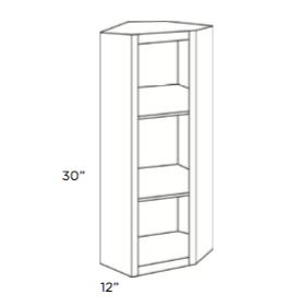 Cabinets, Cubitac Belmont Cafe Glaze Corner-Finished-Interior-CWFI2430