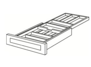 Cabinets, Cubitac Dover Cafe Drawer-Cutlery-Divider-DCD-15-DCD-18-DCD-21-DCD-24
