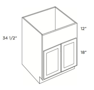 Cabinets, Cubitac Oxford Latte Farm-Sink-Base-FS30-FS33-FS36