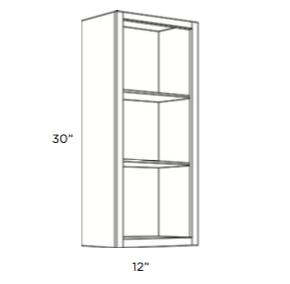 Cabinets, Cubitac Milan Latte Finished-Interior-WFI1230-WFI1530-WFI1830