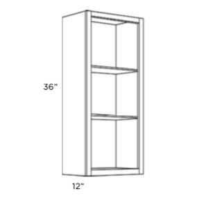 Cabinets, Cubitac Sofia Pewter Finished-Interior-WFI1236-WFI1536-WFI1836