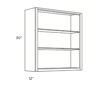 Cabinets, Cubitac Sofia Sable Finished-Interior-WFI2430-WFI3030-WFI3630