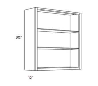 Cabinets, Cubitac Milan Latte Finished-Interior-WFI2430-WFI3030-WFI3630