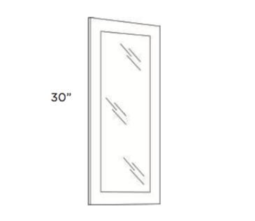 Cabinets, Cubitac Ridgefield Latte Glass-Door-GD1230-GD1530-GD1830-GD2430-GD3030-GD3630-GDCW2430