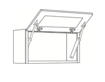 Cabinets, Cubitac Belmont Cafe Glaze Horizontal-Cabinet-3012HD-3015HD-3018HD-3612HD-3615HD-3618HD-3024HD-2