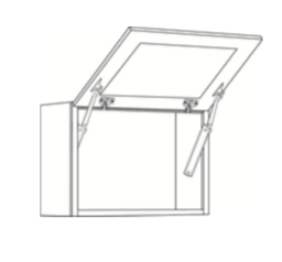 Cabinets, Cubitac Belmont Cafe Glaze Large-Horizontal-Cabinet-3024HD-1-3624HD-1